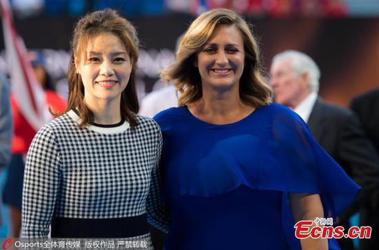 Li Na, Mary Pierce head to Tennis Hall of Fame