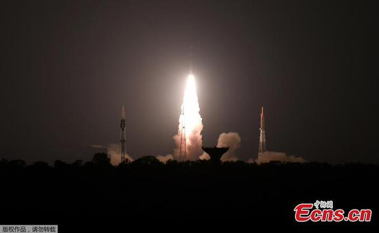India's PSLV-C44 launches two satellites