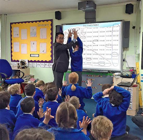 British schools value Shanghai-England maths teacher exchange