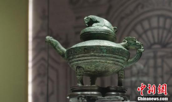 Returned cultural relic exhibited in China