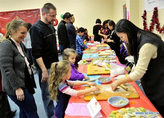 Dumpling festival held in Chicago to celebrate Chinese Lunar New Year