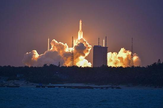 China plans first rocket launch at sea