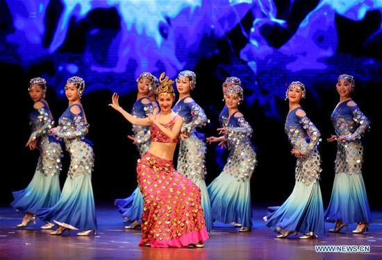 Happy Chinese New Year 2019 Gala Show held in Yangon, Myanmar