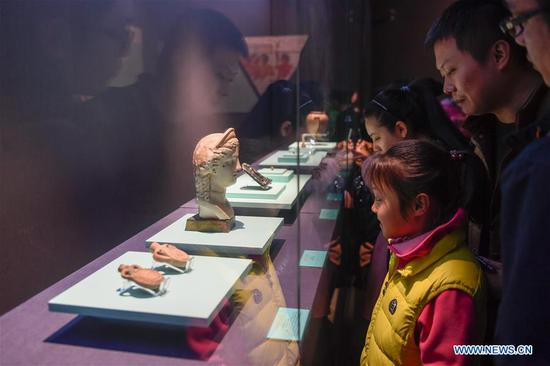 Exhibition of ancient Egyptian civilization held at Zhejiang West Lake Gallery