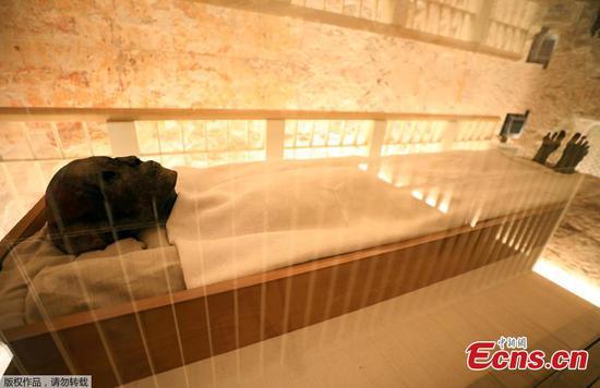 Tutankhamun's tomb shines after decade of renovations