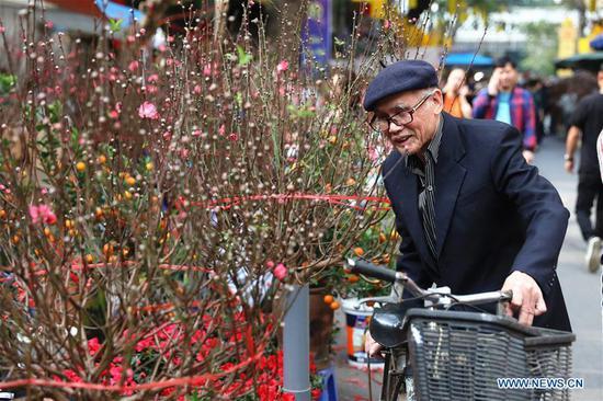 越南人民为农历新年做准备