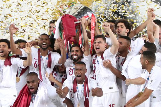 Qatar wins its first-ever Asian Cup glory