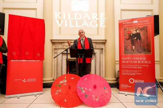Chinese New Year Festival kicks off in Dublin