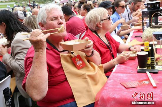 New Guinness World Record: 764 people eat dumplings together