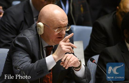 Russian UN envoy warns of unpredictable results if U.S. destroys arms control system