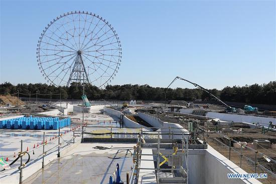 Tokyo 2020 Olympic Games venues under construction