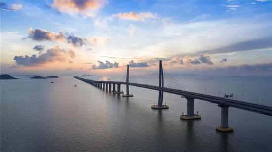 The Hong Kong-Zhuhai-Macao Bridge. (Photo/Xinhua)