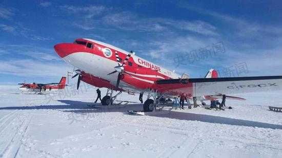 Chinese aircraft completes aerial exploration mission above in Antarctica