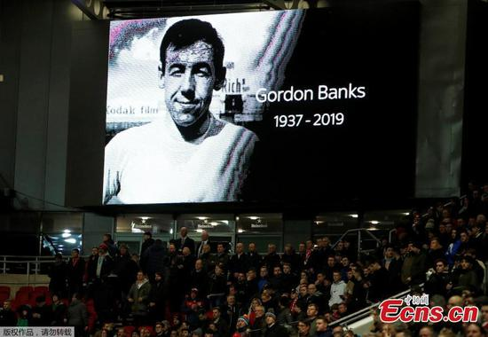 Gordon Banks, England's 1966 World Cup winning goalkeeper, dies aged 81