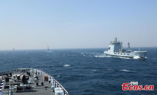 Multinational marine operation held in Pakistan