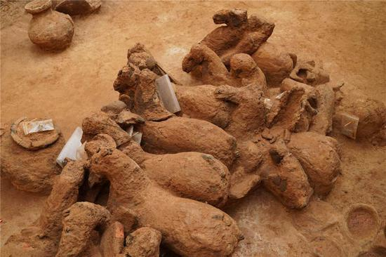Sixteen ancient tombs discovered in East China