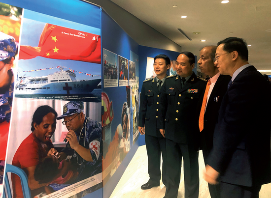 China's peacekeeping efforts lauded at UN