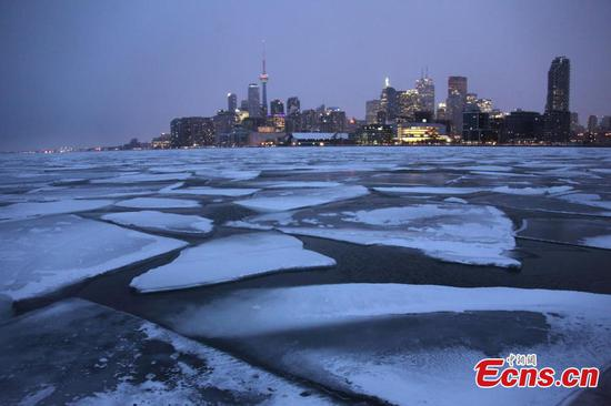 Winter storm hits Greater Toronto Area in Canada