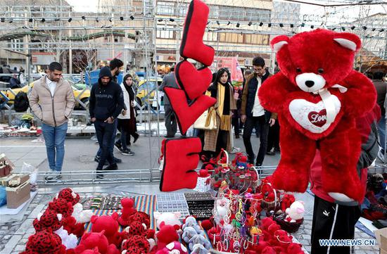 Products for Valentine's Day seen across world