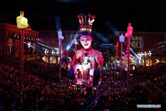 Highlights of 135th Nice Carnival in France