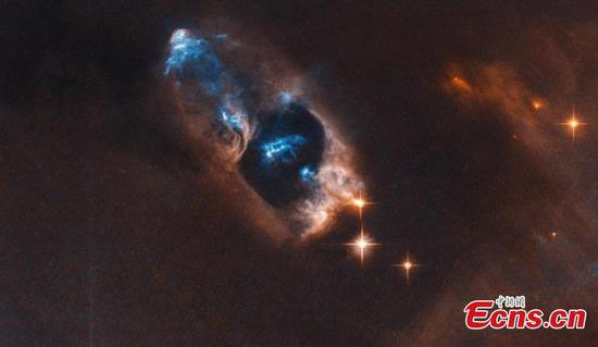 Hubble captures 'smoking gun' of newborn star