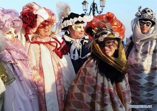 Highlights of Venice Carnival 2019