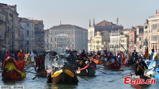 Venice kicks off annual carnival