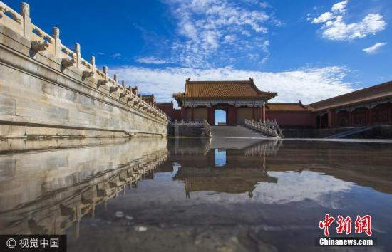 Flie photo of Beijing. (China News Service)