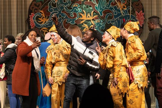 Traditional opera inspires overseas students