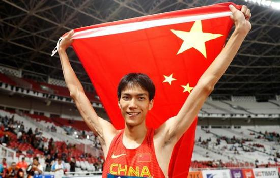 Chinese high jumper Wang sets national indoor record