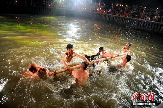 Folk ritual to commemorate history figures in Fujian