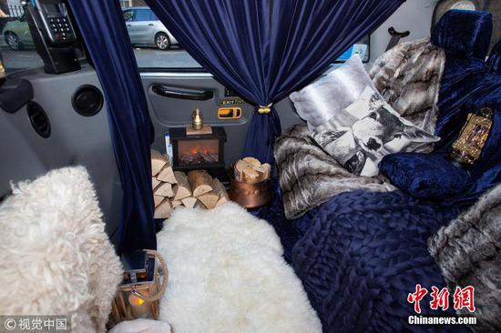 'World's cosiest taxi' coming to London