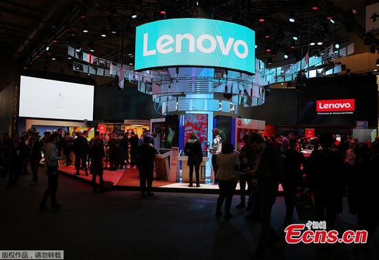 Lenovo says pretax income rose 133 percent
