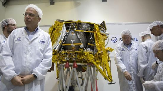 Israel's first moon lander set to lift off from Kennedy Space Center