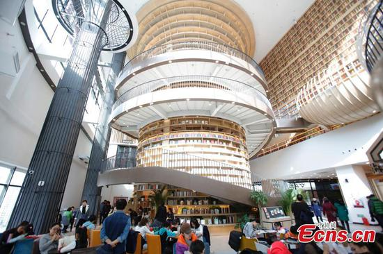 Zhongchuang Bookstore in Harbin: A new hot spot
