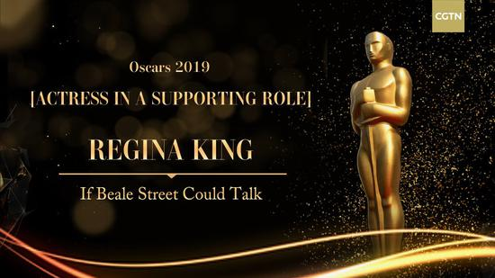 Regina King of 'If Beale Street Could Talk' wins Best Supporting Actress of 91st Oscars