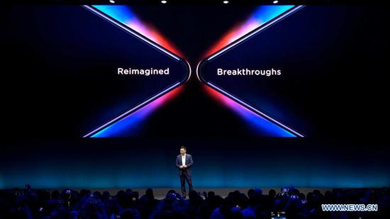 Huawei launches foldable 5G smartphone Mate X