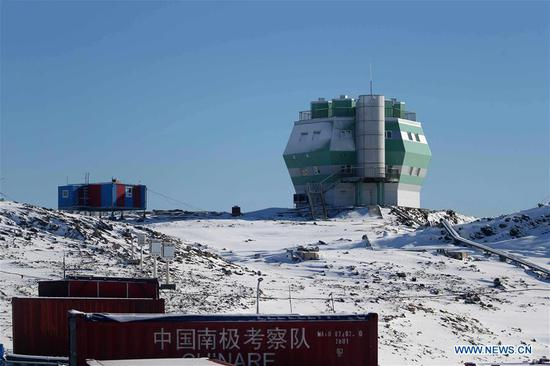 Zhongshan Station has grown into modern 'scientific town' in Antarctica