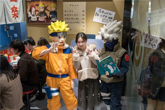 Naruto's favorite noodle shop Ichiraku Ramen opens in Shanghai