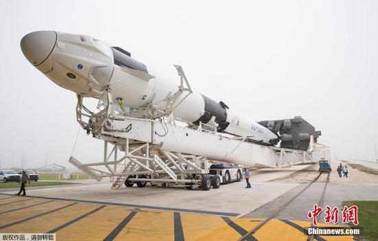 SpaceX to launch its 1st Crew Dragon for NASA
