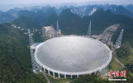 Robots to assist world's largest telescope FAST in Guizhou