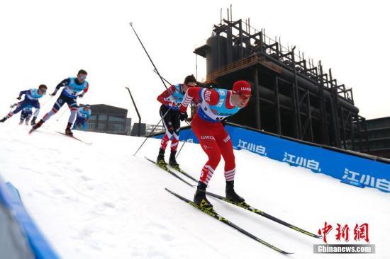 一场滑雪比赛将于2019年3月2日在北京举行。(照片/中国新闻社)