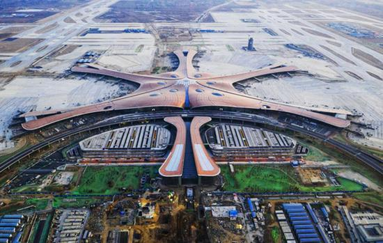China approves 10 int'l flight routes from Beijing's new airport