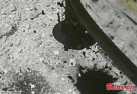 Watch Japan's asteroid probe fire a bullet into a space rock