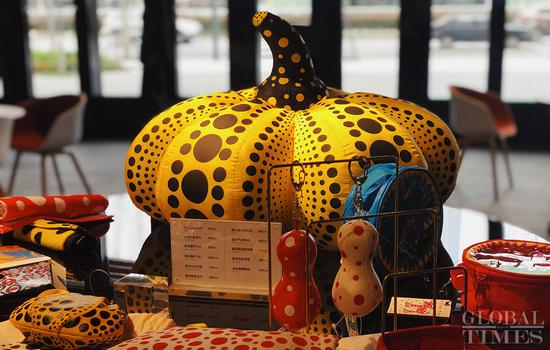 'Exhibition Yayoi Kusama: all about love speaks forever' held in Shanghai