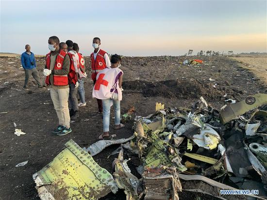 Ethiopian airlines' worst jet crash leaves 157 dead