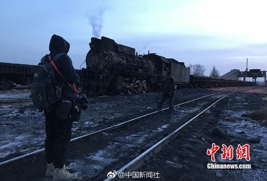 Steam locomotive. (Photo: China News Service)