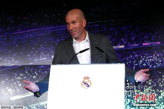 Zinedine Zidane returns as Real Madrid manager to replace Solari