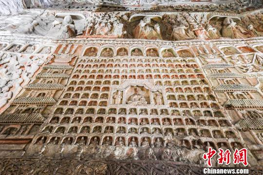 File photo of Yungang Grottoes. (China News Service)