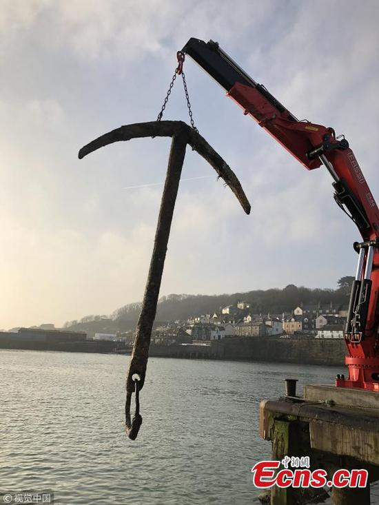 Anchor from 'most valuable shipwreck in history' found